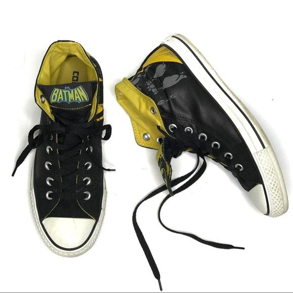 2554103418d Converse Shoes - Converse D.C. Comics Batman High Top Sneakers